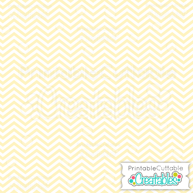 01 Yellow Baby Chevron Digital Paper preview