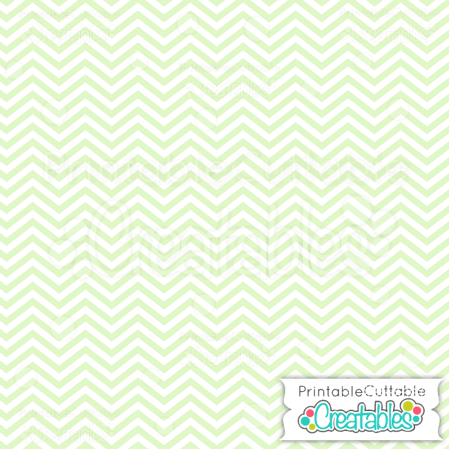 02 Green Baby Chevron Digital Paper preview