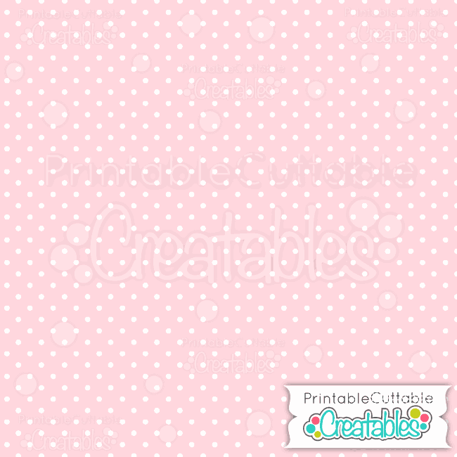 04 Small Blue Polka Dots digital paper preview