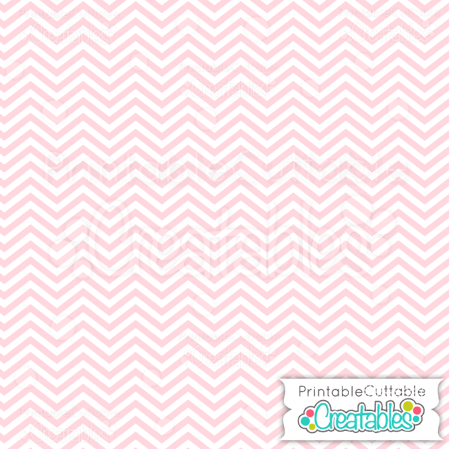 05 Baby Pink Chevron digital paper