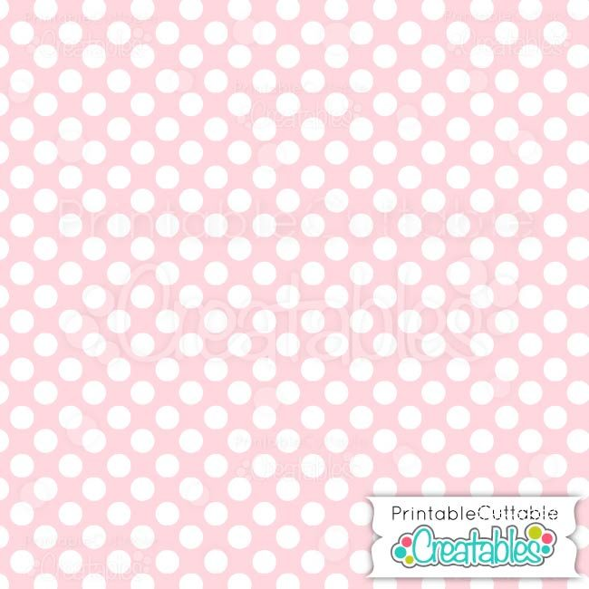 06 Large Polka Dots Pink digital paper