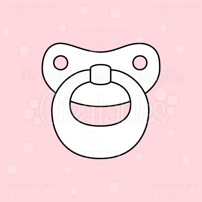 Baby-Pacifier-Digital-Stamp