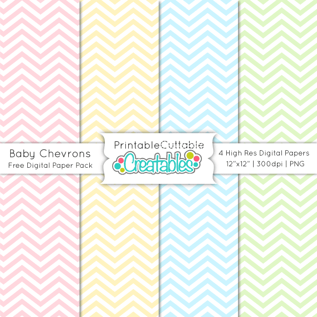 Baby-Chevron-Free-Digital-Paper-Pack