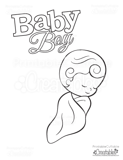 Baby Coloring Pages Printable Free Coloring Pages