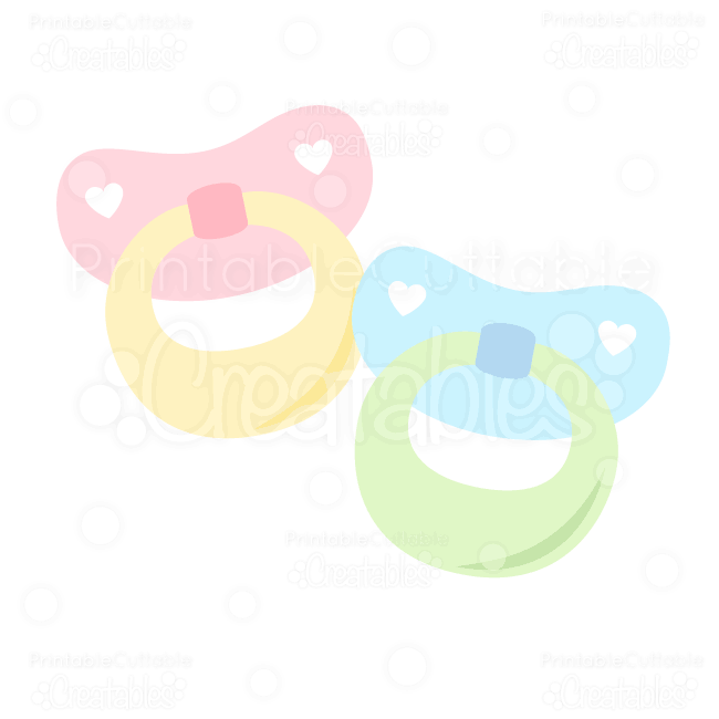 Baby-Pacifiers-SVG-clipart