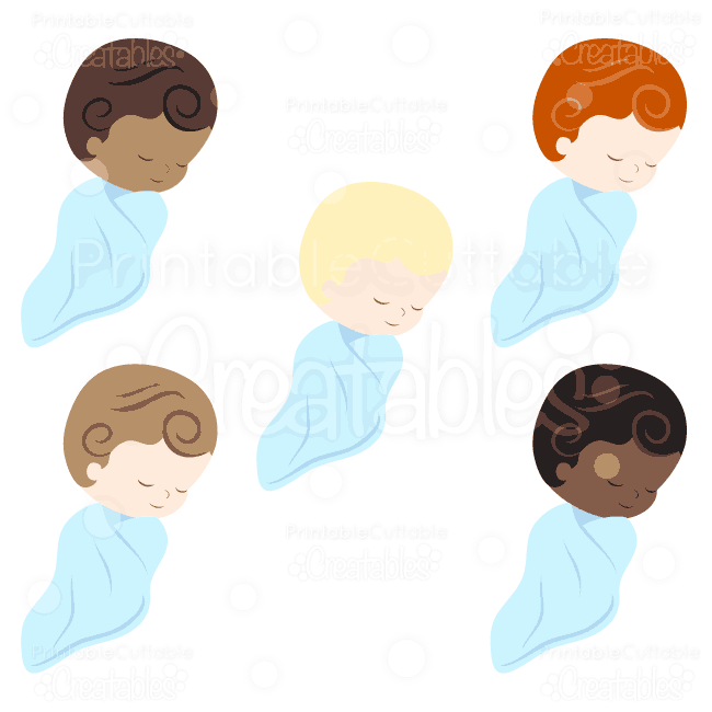 E011 Sweet Baby Boy SVG clipart preview2