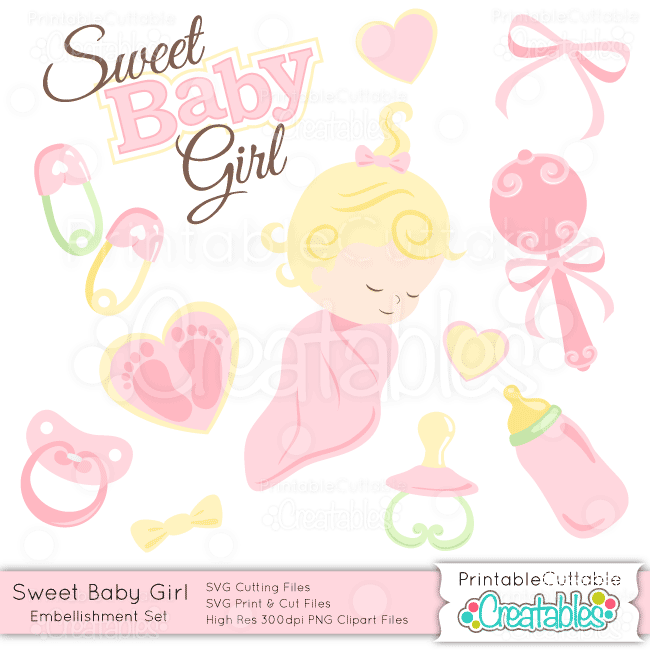 Sweet-Baby-Girl-Embellishment-Set
