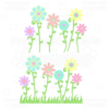Spring Flowers SVG Cutting Files & Clipart