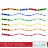 Colorful-Crayon-Borders SVG Cut Files