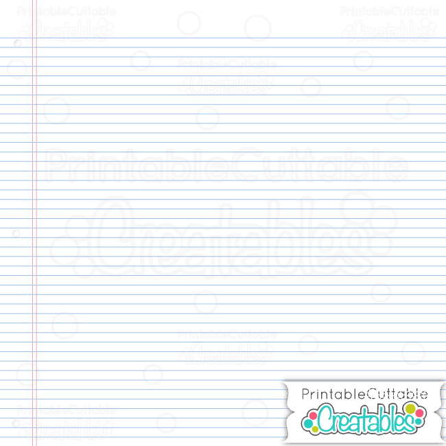 Notebook Paper White preview
