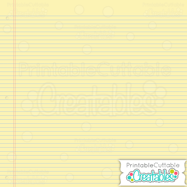 Notebook Paper Yellow preview