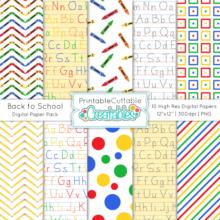 back-to-school-digital-paper-pack