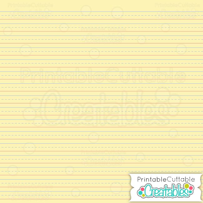 Penmanship Paper Yellow preview