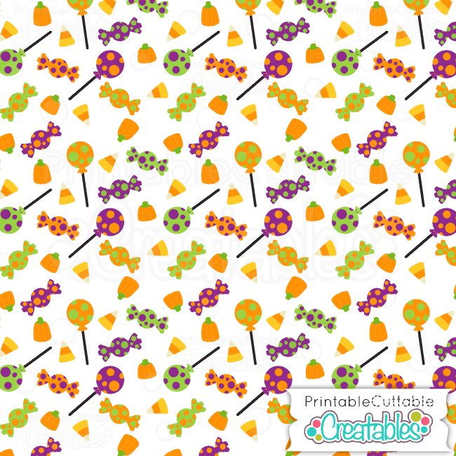 04 Halloween Candy Digital Paper Preview