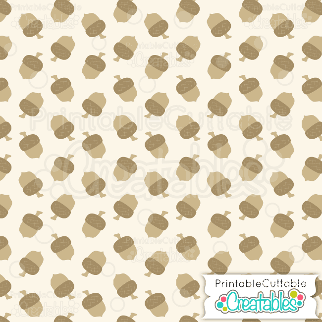 graphic relating to Printable Pattern Paper referred to as Autumn Acorns Totally free Electronic Paper Printable Practice