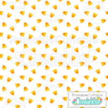 Halloween Candy Corn Free Digital Paper
