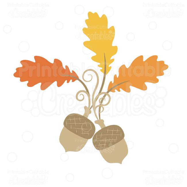 Fancy-Swirls-Acorn-Leaves-Digital-Cut-File