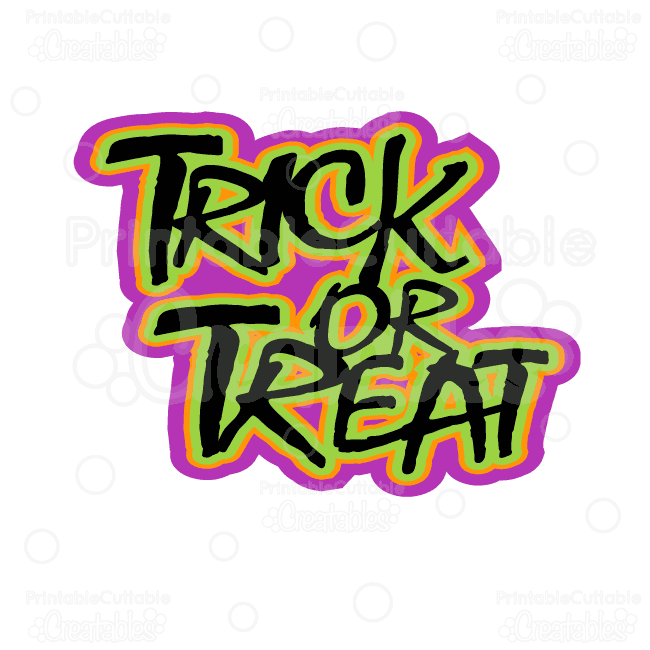 Trick-or-Treat-Halloween-Title-SVG-Cut File