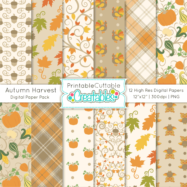 Autumn-Harvest-Digital-Paper-Pack-preview