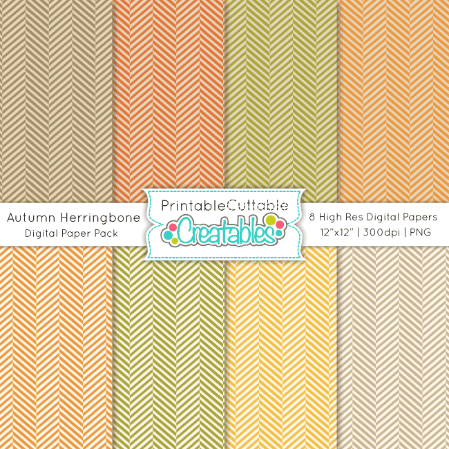 Autumn-Herringbone-Free-Digital-Paper-Pack-preview