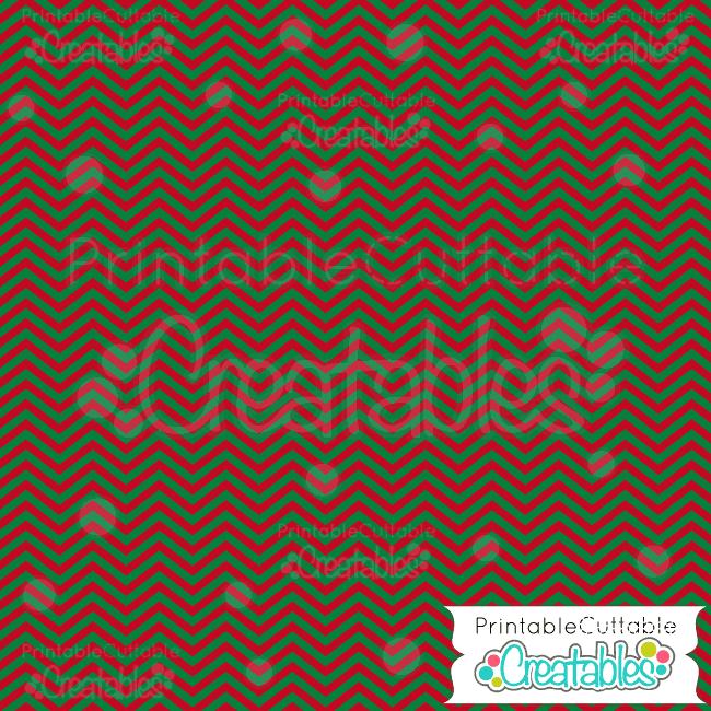 07 Christmas Colors Chevron Free Digital Paper