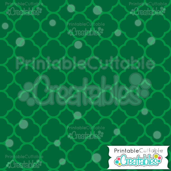 01-Green-Christmas-Quatrefoil-Patterns