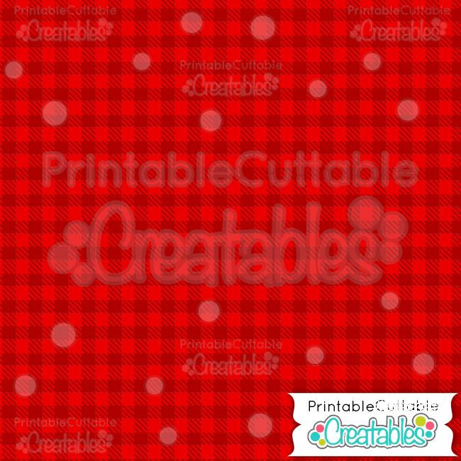 01 Red Cnristmas Plaid Digital Paper