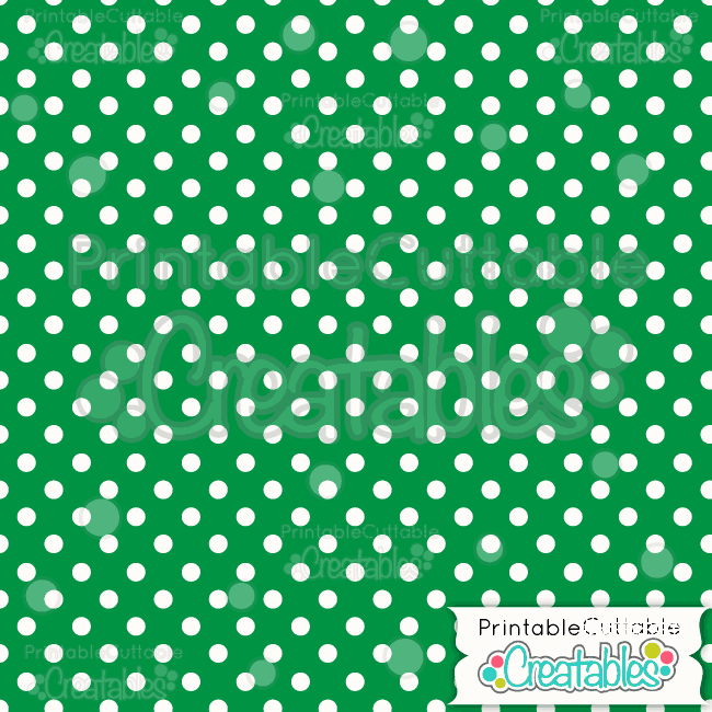 02-Green-Polka-Dot-Christmas-Free-Digital-Paper-Pack