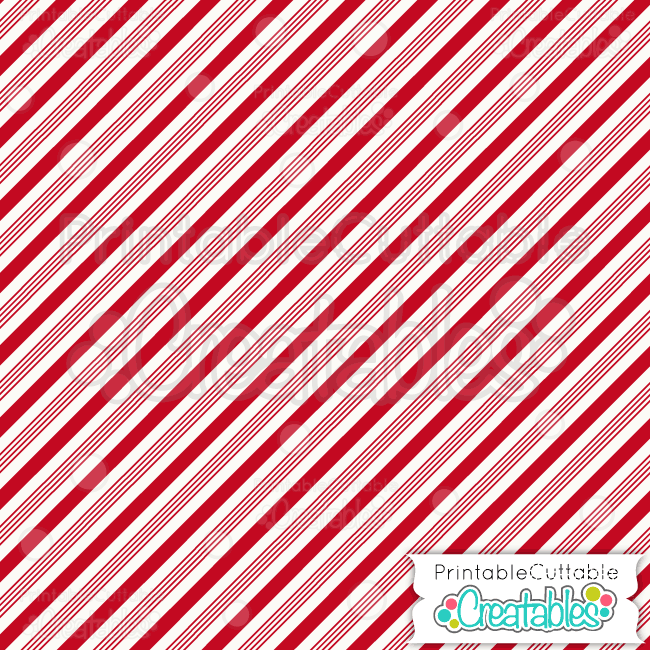 06 Candy Cane Stripe Digital Paper
