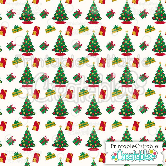 06 Christmas Presents Digital Paper