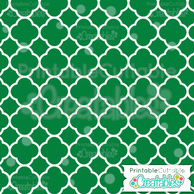 09-Green-Christmas-Quatrefoil-Digital-Paper