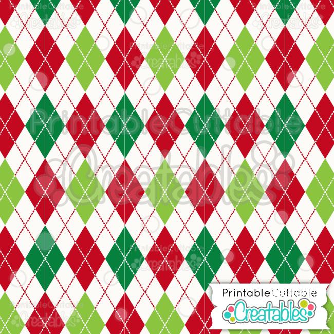 11 Christmas Argyle Pattern