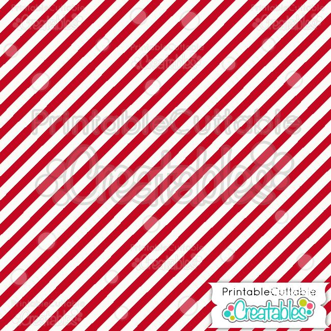 19 Red Diagonal Stripe Pattern