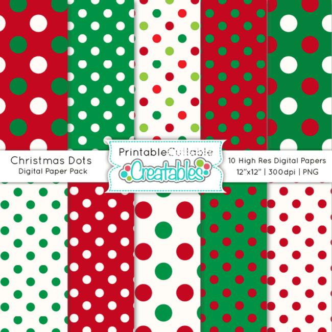 Christmas-Dots-Free-Digital-Paper-Pack