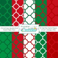 Christmas-Quatrefoil-Patterns-Digital-Paper-Pack