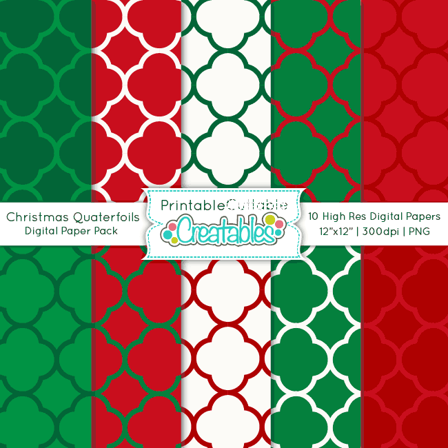Christmas-Quatrefoil-Patterns-Digital-Paper-Pack