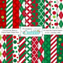 Christmas-Basics-Digital-Paper-Mega-Pack
