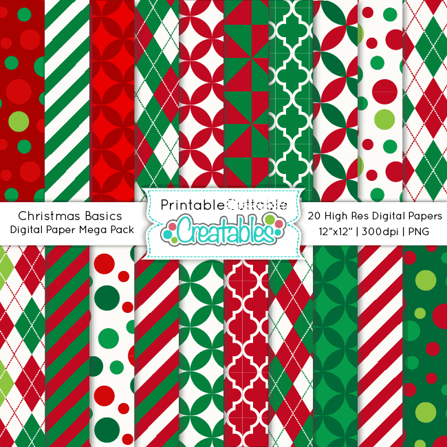 Christmas-Basics-Digital-Paper-Mega-Pack