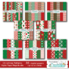 Christmas Patterns Digital Paper Mega Bundle