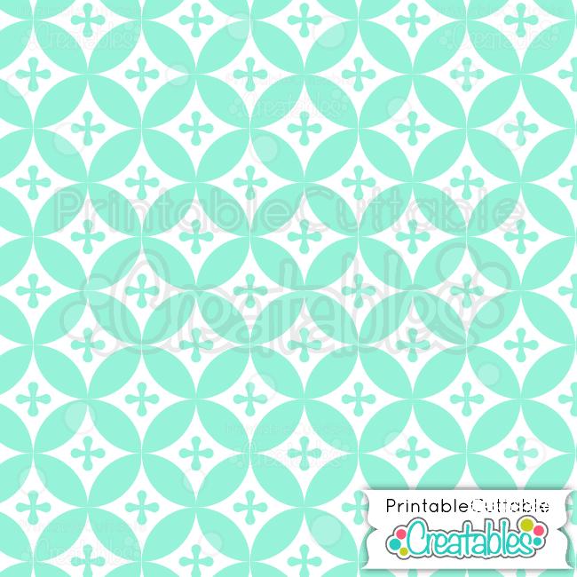 07-Winter-Mint-Interlocking-Circles-Pattern
