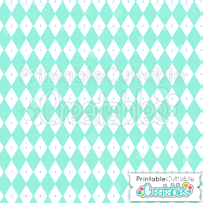 Mint-Harlequin-Print-Diamond-Pattern-Free-Digital-Paper