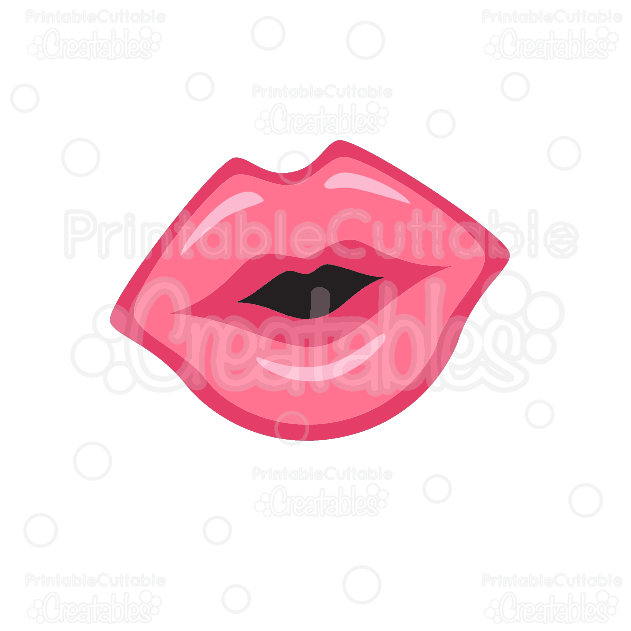Kissing-Lips-SVG-cutting-file-clipart