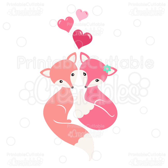 Fox-Love-SVG-Cutting-Files-Clipart
