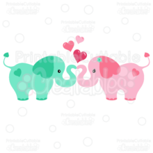 Elephant-Hearts-couple-SVG-cut-files-clipart