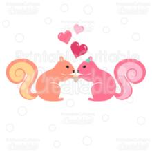 Squirrels-in-Love-SVG-Cut-File-Clipart