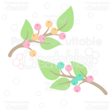 Berry-Branches-Free-Clipart-SVG-Cut-File