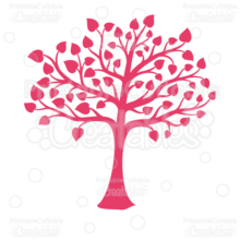 Valentines-Heart-Tree-Silhouette