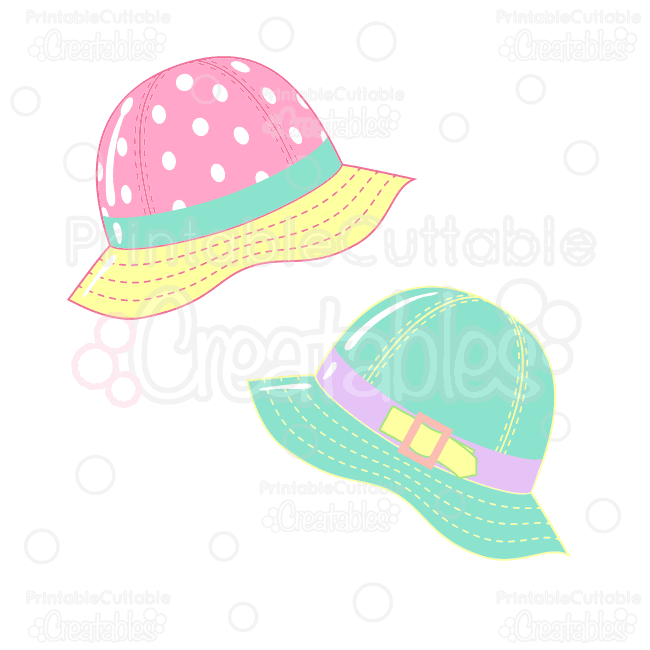 Rainy-Day-Rain-Hats-Clipart-SVG-Cut-Files