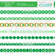 Clovers-St-Paddys-Day-Border-Set