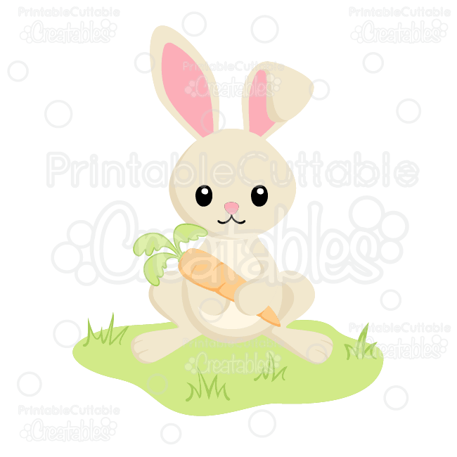 Bunny-Holding-Carrot-Easter-SVG-Cutting-File-Clipart